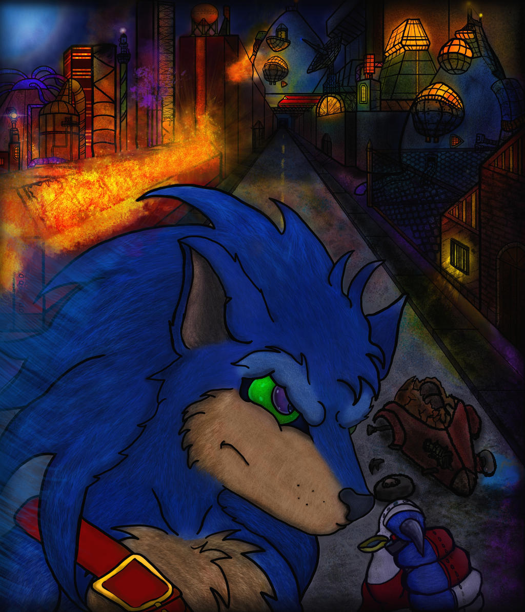 Sonic Boom. by TheRedStranger