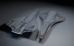 RNoAF Future Viking ship wip3 by Deliciusman