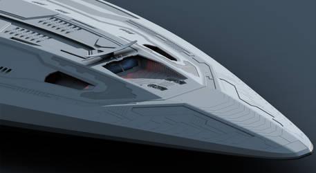 X-308 Progress 01 by Deliciusman