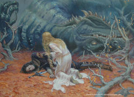 The death of Glaurung