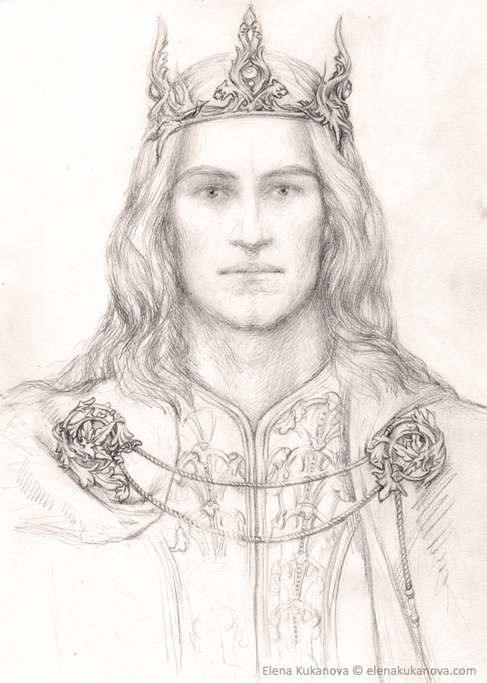 Elu Thingol by EKukanova