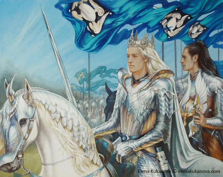 King of Doriath by EKukanova