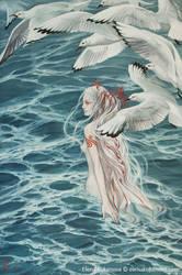 The mourning of Uinen by EKukanova
