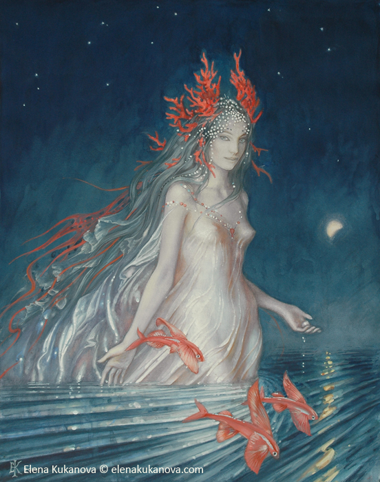 Lady of the Sea by EKukanova