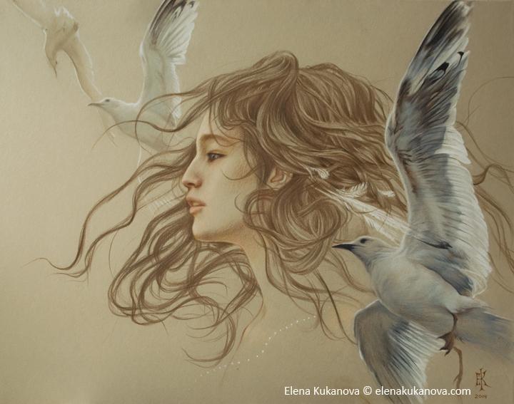 The Seagull by EKukanova