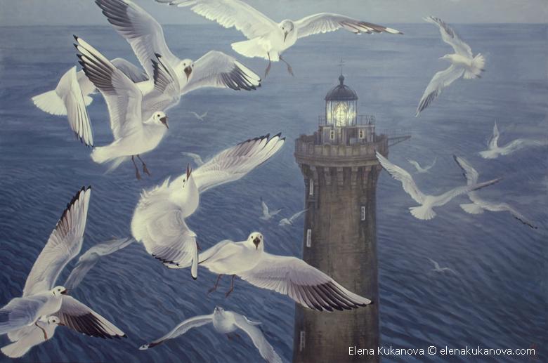 The lighthouse by EKukanova