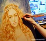 WIP- Galadriel by EKukanova