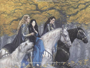 Celegorm and Curufin finds Luthien