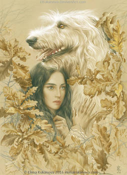 Luthien and Huan