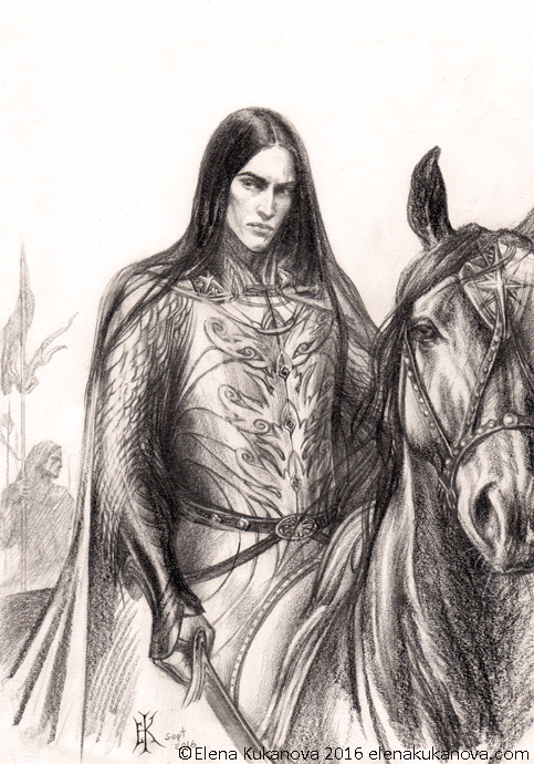 Caranthir -sketch
