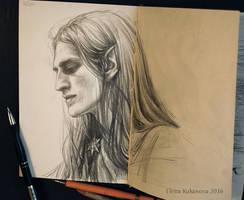 Helgon -sketch
