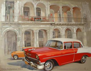 Habana Chevy by EKukanova