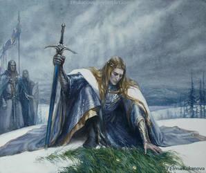 King of the Valinorian Noldor by EKukanova
