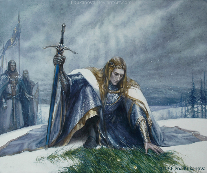 King of the Valinorian Noldor by EKukanova