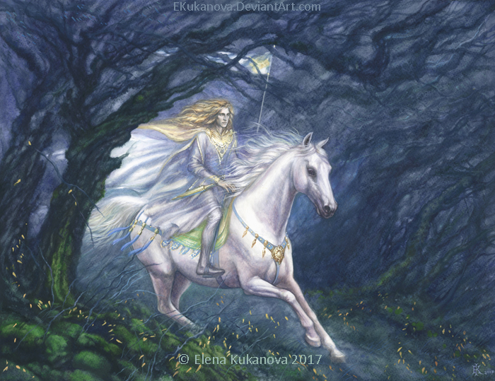 Glorfindel by EKukanova