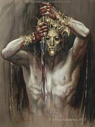 The Temple of Melkor 2 by EKukanova