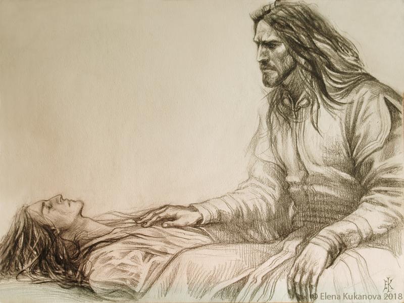 The King of dunedain by EKukanova