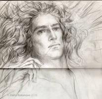 Aegnor- sketch by EKukanova