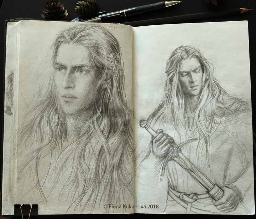 Angrod -sketch by EKukanova