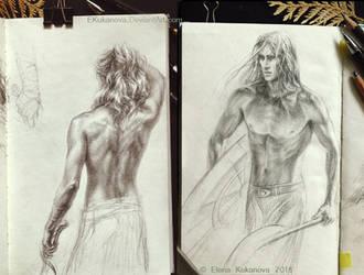 Sketchbook 1 by EKukanova