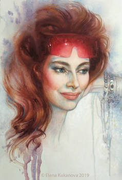 Olga by EKukanova