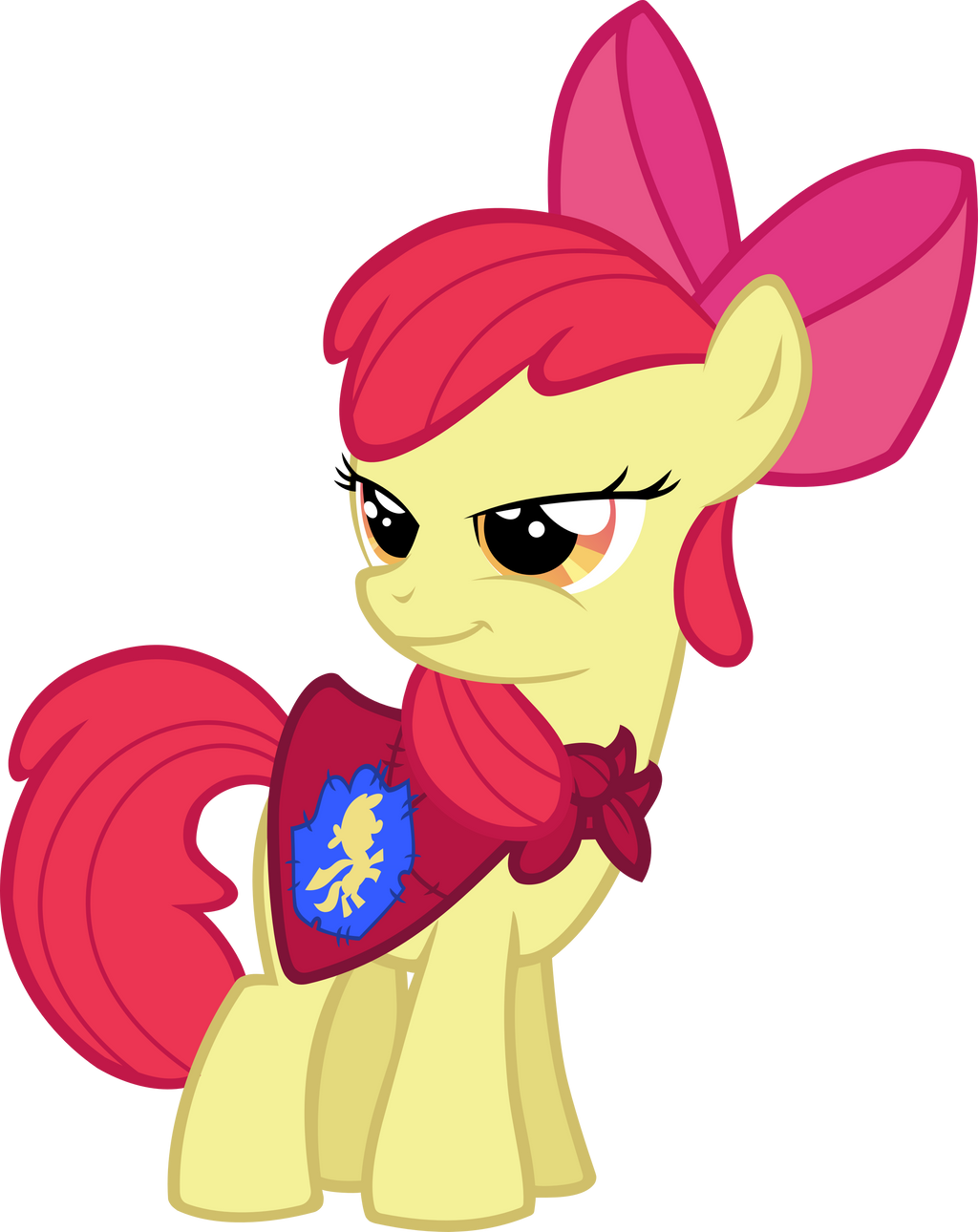 Apple Bloom the Cutie Mark Crusader by RatchetHuN