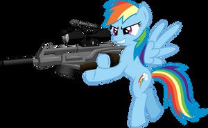 Rainbow Dash the Sniper