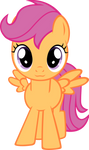 Scootaloo murder with adorableness