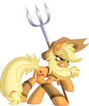 Applejack The Warrior