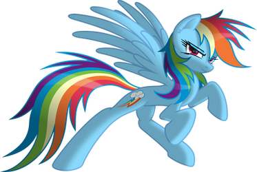 Rainbow Dash the Spirit of Loyalty by RatchetHuN