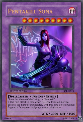 Fiora (LoL): Yu-Gi-Oh! Card by PopPixieRex on DeviantArt