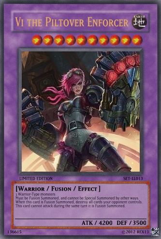 Fiora (LoL): Ritual Yu-Gi-Oh! Card by PopPixieRex on