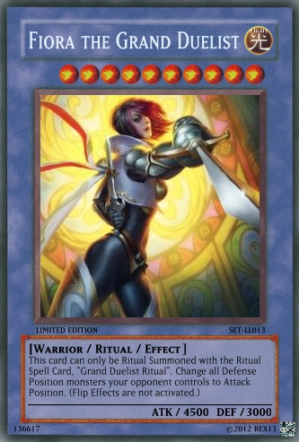 Miss Fortune (LoL): Yu-Gi-Oh! Card by PopPixieRex on