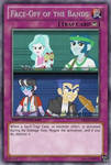 Face-Off of the Bands (MLP): Yu-Gi-Oh! Card