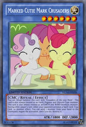 Marked Cutie Mark Crusaders (MLP): Yu-Gi-Oh! Card by PopPixieRex