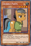 Quibble Pants (MLP): Yu-Gi-Oh! Card by PopPixieRex