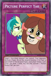 Picture Perfect Yak (MLP): Yu-Gi-Oh! Card by PopPixieRex