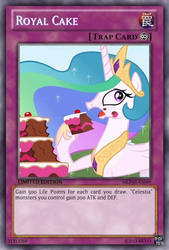 Royal Cake (MLP): Yu-Gi-Oh! Card by PopPixieRex