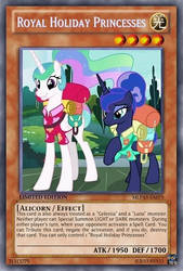 Royal Holiday Princesses (MLP): Yu-Gi-Oh! Card by PopPixieRex