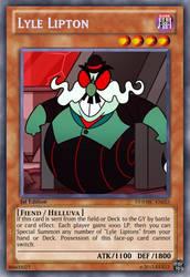 Lyle Lipton (Helluva Boss): Yu-Gi-Oh! Card by PopPixieRex