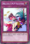 I.M.P Vacation (Helluva Boss): Yu-Gi-Oh! Card by PopPixieRex