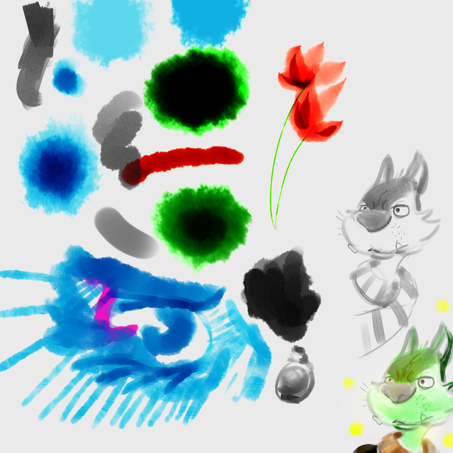 Painterly Test by justinohadi