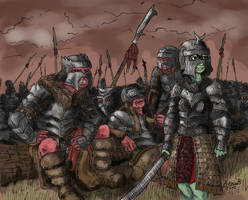 Crusades with chicks are fun by fearydistress