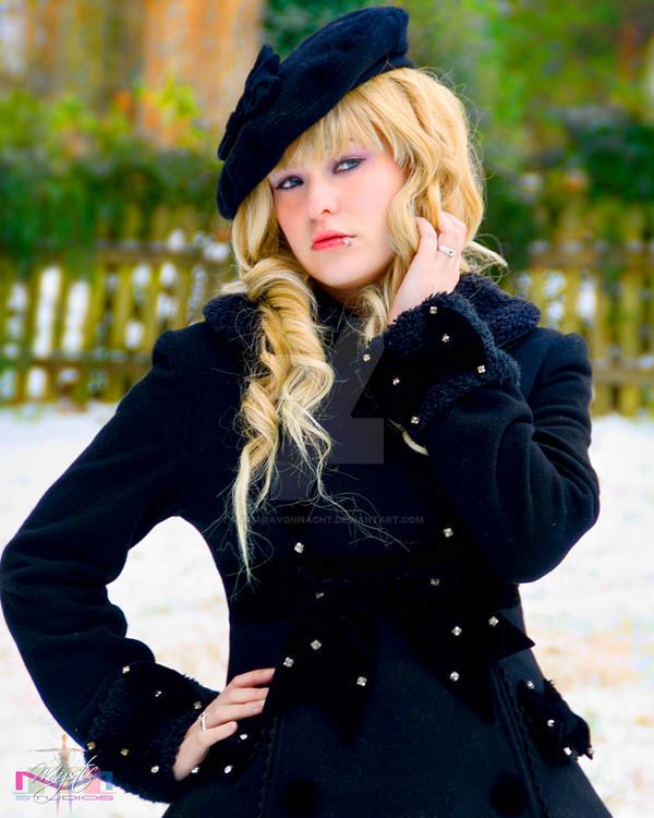 In the Snow 1 by AmaraVonNacht