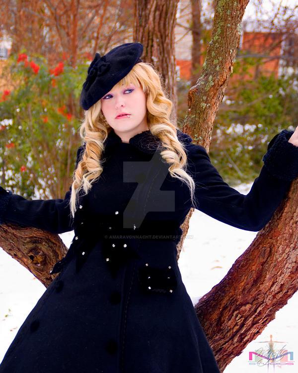 In the Snow 3 by AmaraVonNacht
