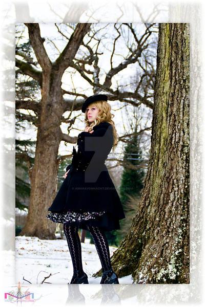 In the Snow 5 by AmaraVonNacht