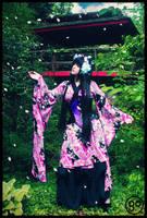 In the Japanese Gardens by AmaraVonNacht