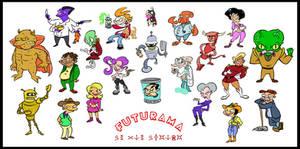 Futurama stylized 3