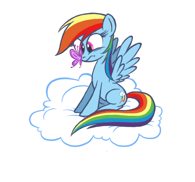How is that butterfly in Cloudsdale by Brah-J