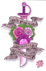 Rose Quartz Tattoo